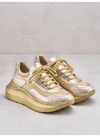 Elle Sneakers Altın
